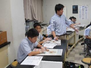 夏休み課外授業(前半)   土浦日本大学中等教育学校
