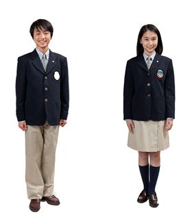 土浦日本大学中等教育学校 後期課程制服画像